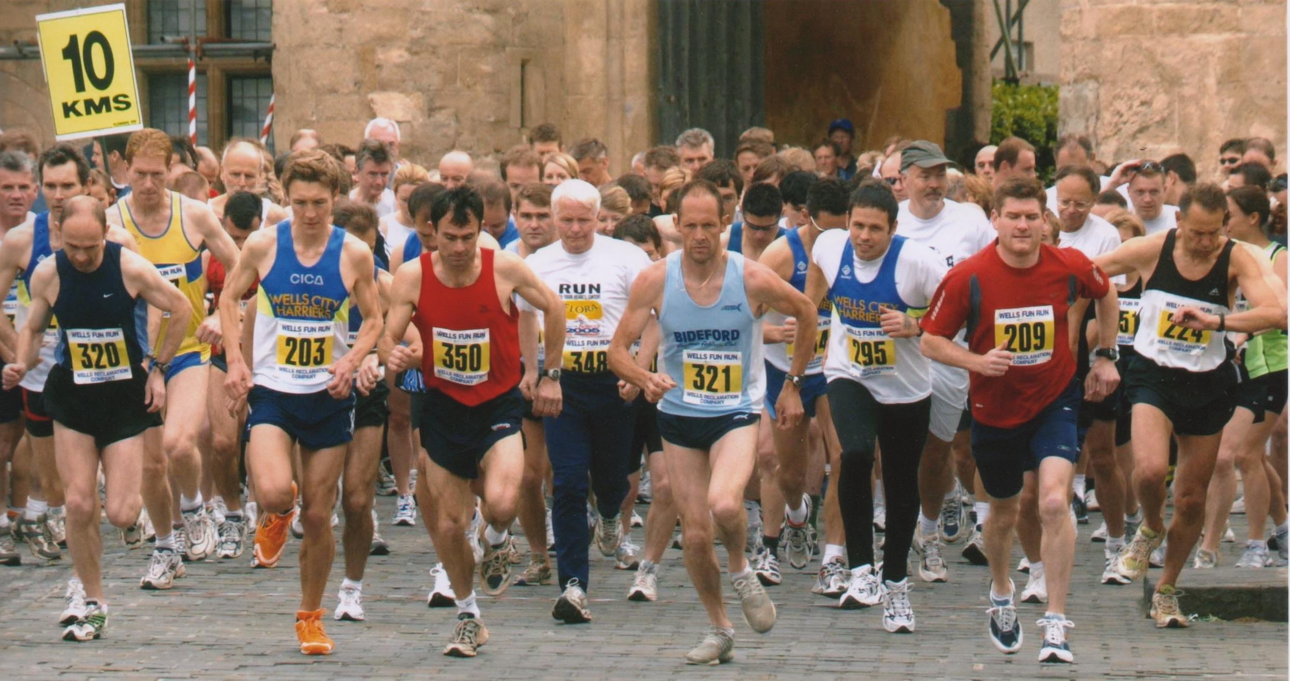Wells Fun Run start